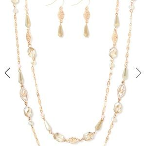 Holli Marquise Necklace Set